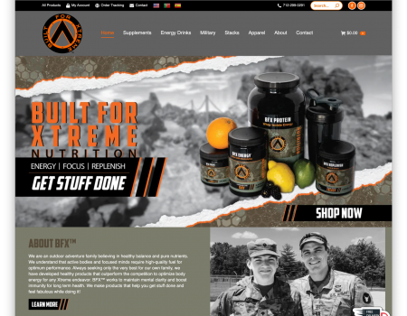 Built for Xtreme Nutrition